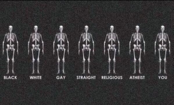 ما با هم برابریم به نژاد پرستی نه بگوییم