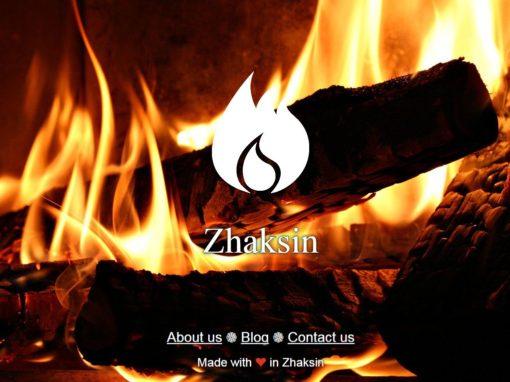 طراحی وب سایت ژاکسین