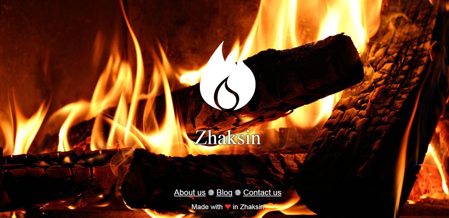 طراحی وبسایت ژاکسین